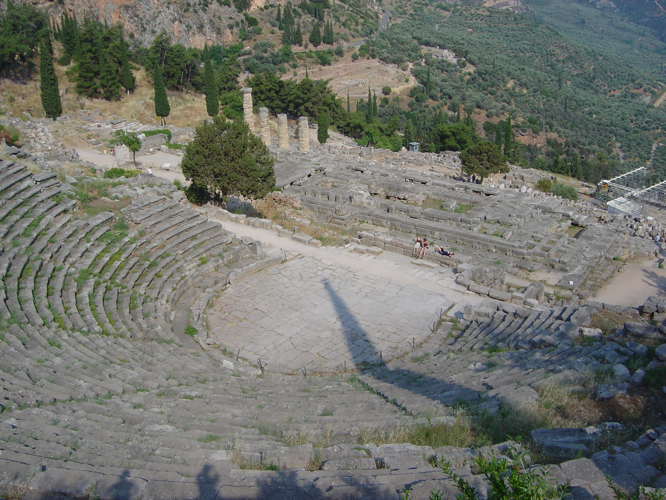A Greek amphitheatre
