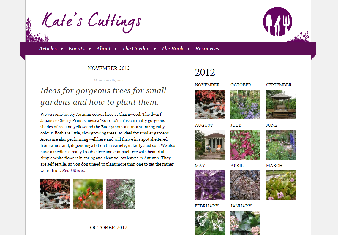 Kate's Cuttings