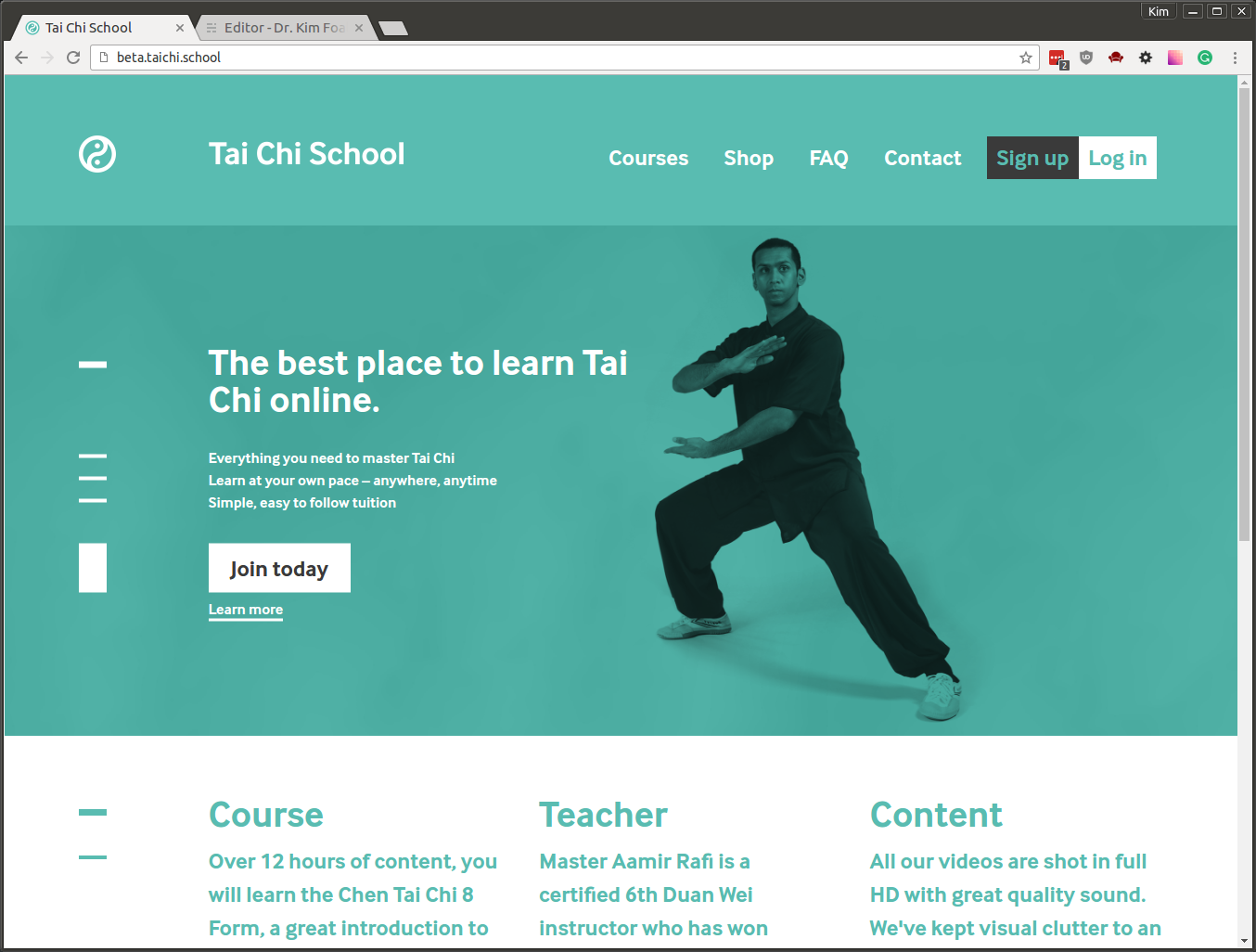 Tai Chi School
