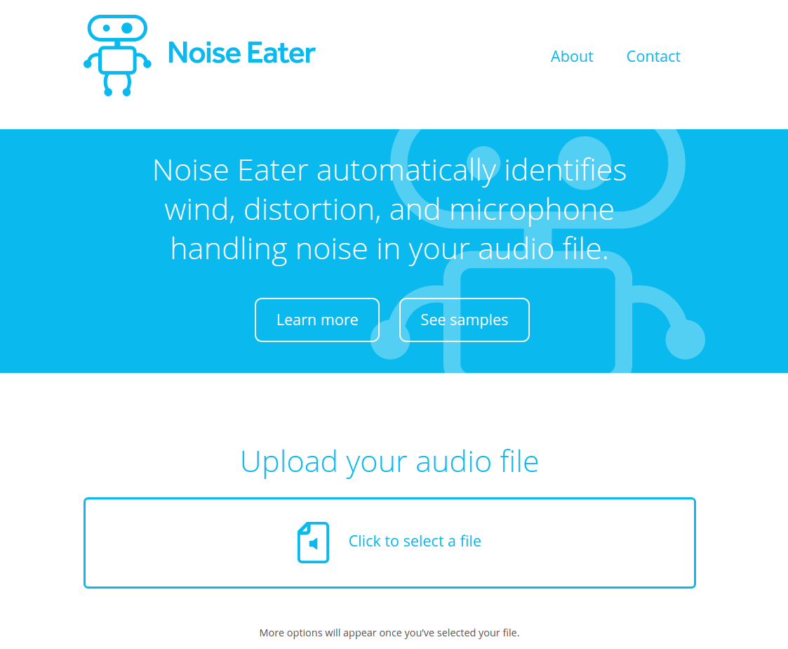 Screenshot of Noise Eater